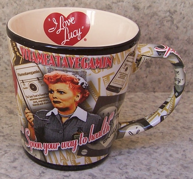 Lucy Vitameatavegamin entertainment coffee mug thumbnail